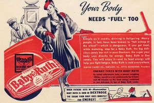 Baby Ruth Chocolate vintage ad antiguo anuncio blog chocolate chocolandia