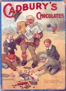 Cadbury Chocolate vintage ad antiguo anuncio blog chocolate chocolandia