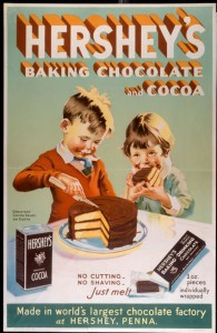 Hersheys Chocolate vintage ad antiguo anuncio blog chocolate chocolandia