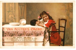 vanhouten Chocolate vintage ad antiguo anuncio blog chocolate chocolandia