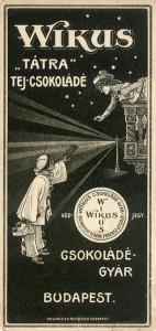 Wikus Chocolate vintage ad antiguo anuncio blog chocolate chocolandia