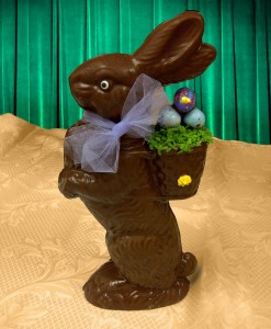 conejo pascua chocolate chocolandia