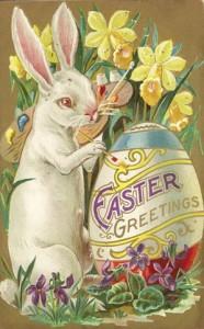 easter bunny chocolandia
