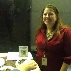 Kaine Chandler Cavegirl fudge vegano con frutas y libre de gluten