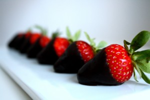 fresas con chocolate wallpaper, blog del chocolate