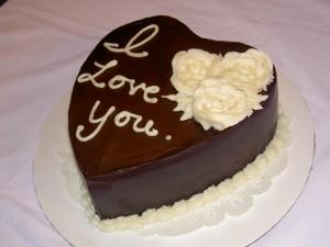 Tarta chocolate San Valentin, Chocolandia, el blog del chocolate