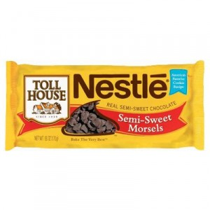 Toll house chocolate chips, galletas con chocolate chips, el blog del chocolate